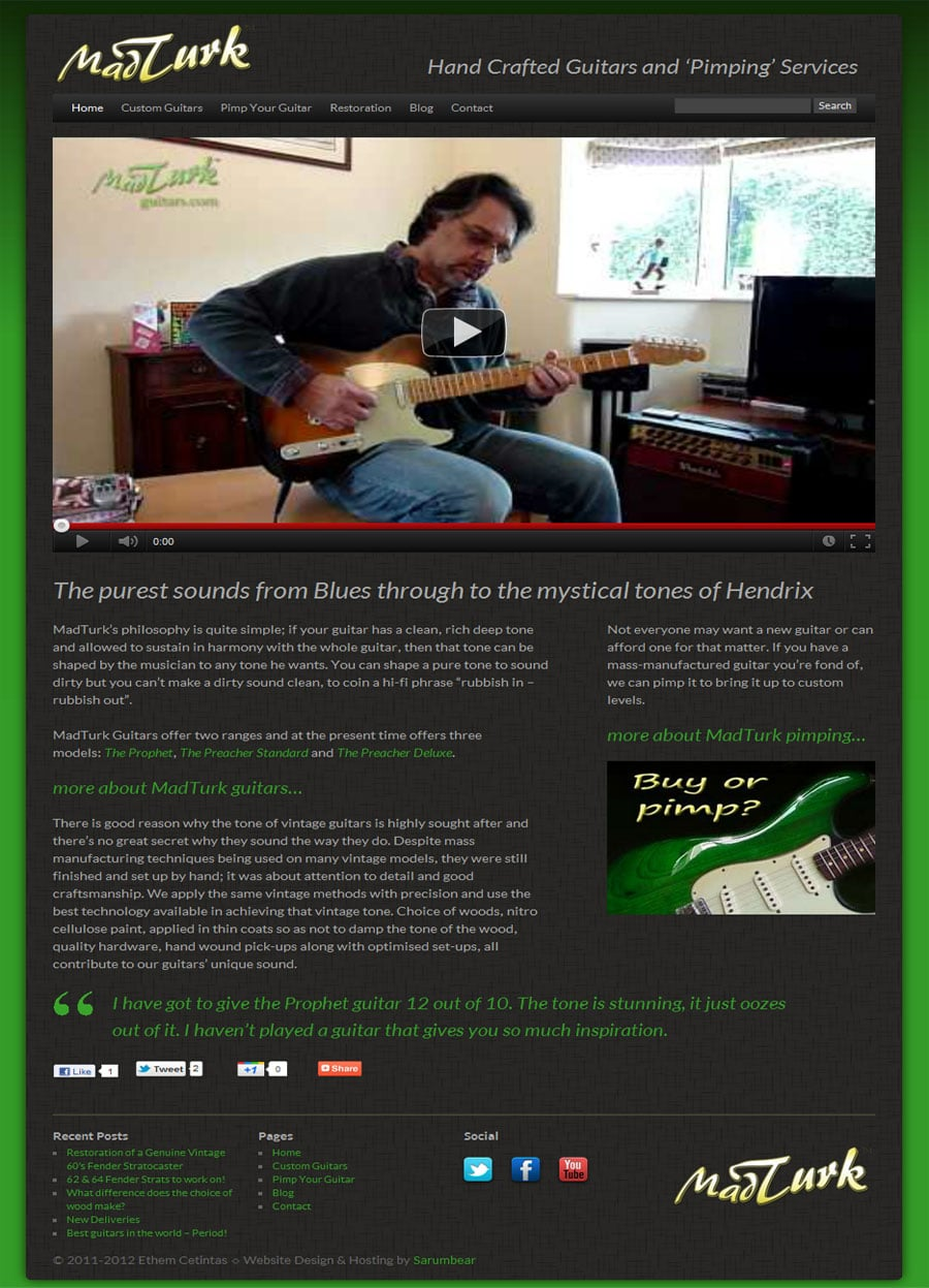 MadTurk Guitars