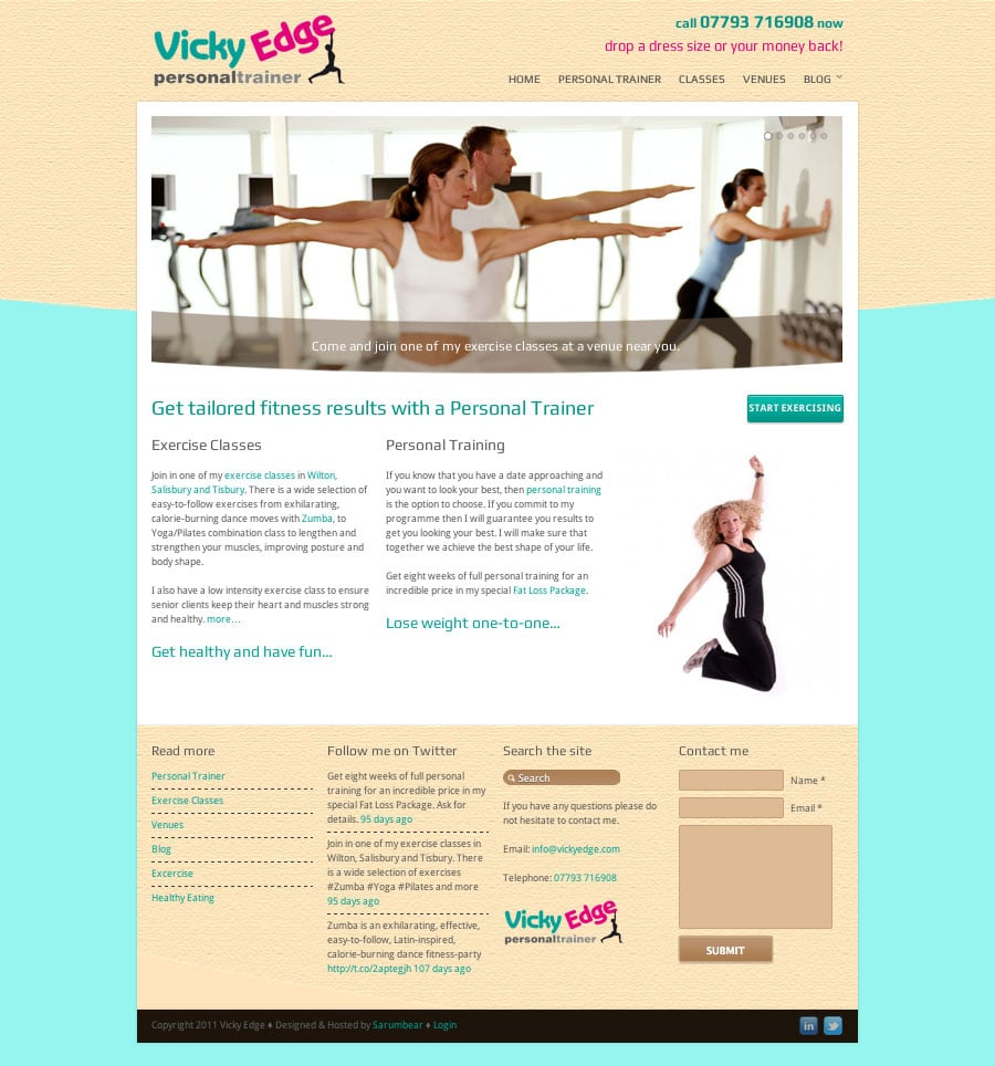 Vicky Edge – Personal Trainer