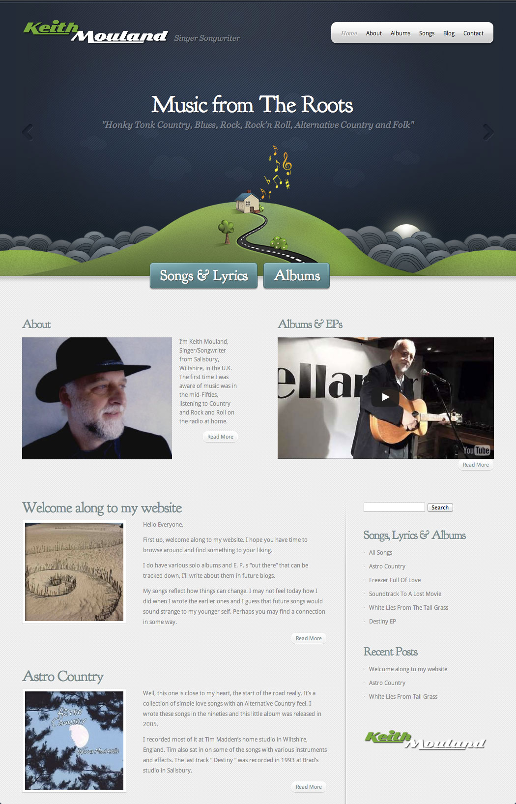 Keith Mouland – Singer Songwriter
