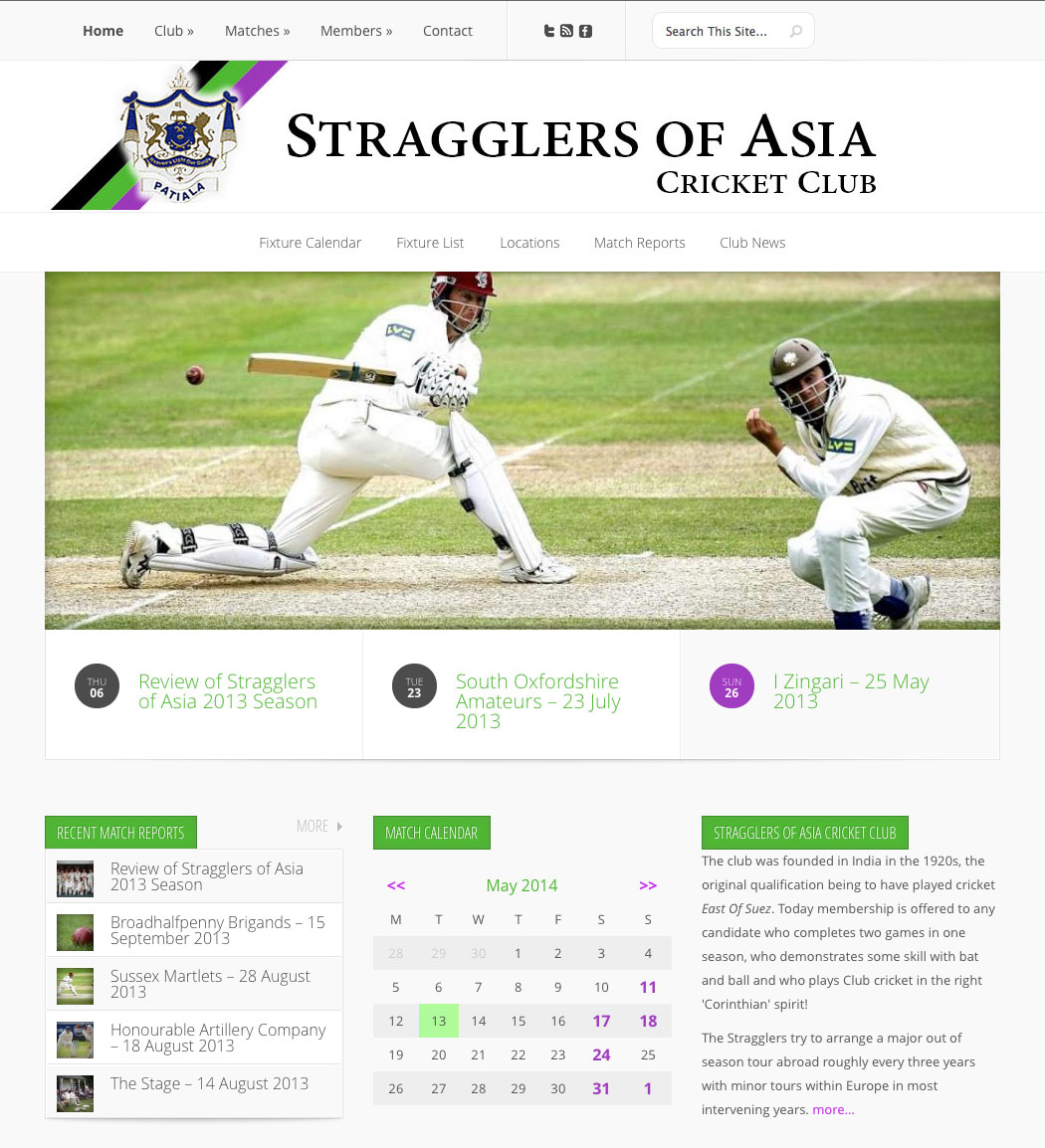 Stragglers of Asia Cricket Club