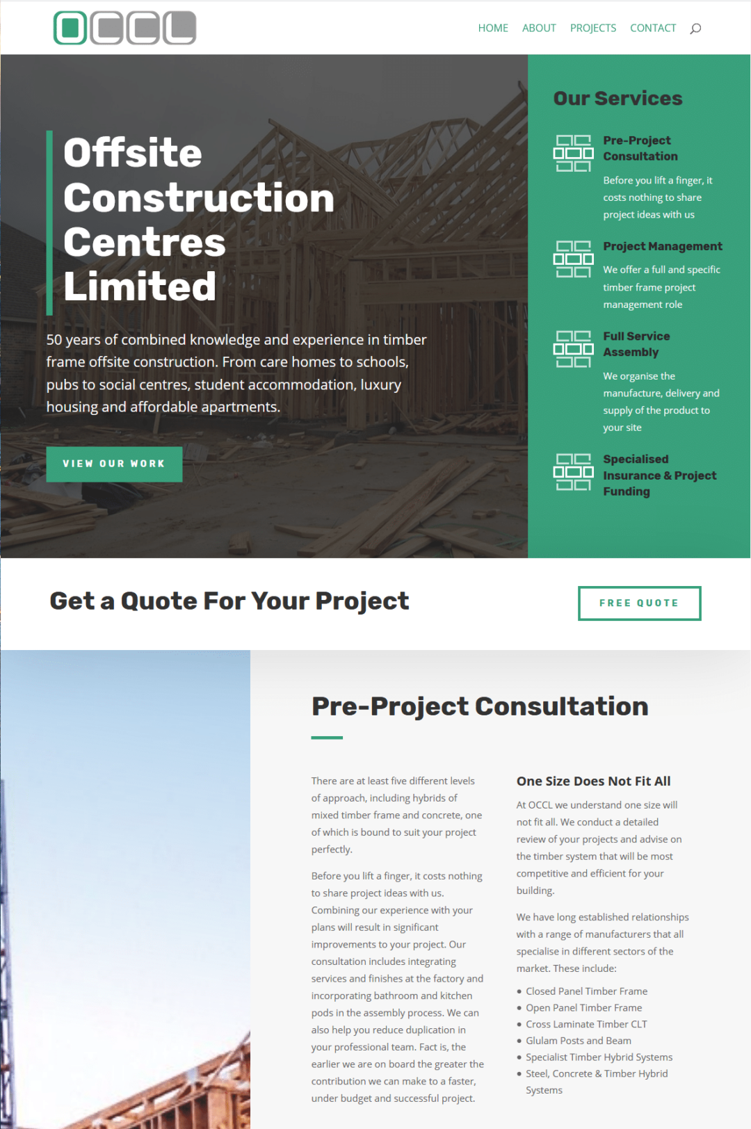 Offsite Construction Centres Limited